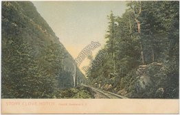Railroad, Stony Clove Notch, Catskill Mts., NY New York Pre-1907 Postcard