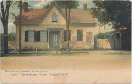 Revolutionary House, Kingston, NY Pre-1907 ROTOGRAPH Postcard