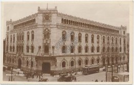 Post Office, Correo, Mexico City - Early 1900's RP Photo Card