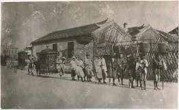 Chinese Funeral Procession - Early 1900's China Photograph
