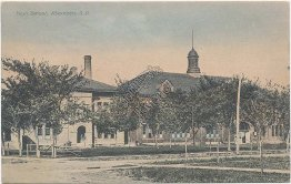 High School, Aberdeen, SD South Dakota 1909 Postcard