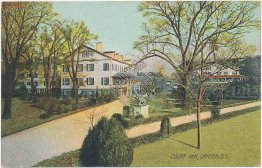 Court Inn, Camden, SC South Carolina - Early 1900's Rotograph Postcard