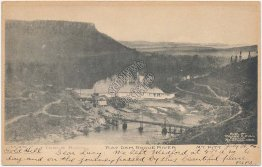 Table Rock, Ray Dam, Rogue River, Mt. Pitt, Gold Hill, OR Oregon 1906 Postcard