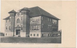 North School, Medford, OR Oregon - 1908 Postcard