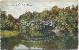 Wooded Islands, Jackson Park, Chicago, IL Illinois - Early 1900's Postcard
