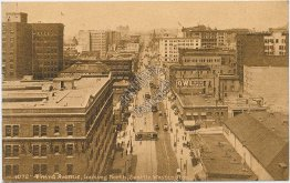 Third Ave., looking North, Seattle, WA Washington - Early 1900's Postcard
