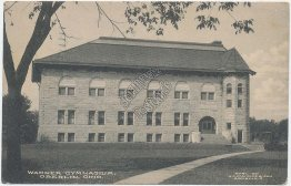 Warner Gymnasium, Oberlin, Ohio OH -1910 Postcard