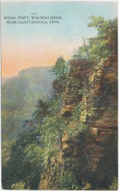 Signal Point, Waldens Ridge, Chattanooga, TN - Early 1900s Tennessee Postcard