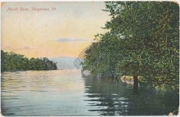 Mouth River, Vergennes, VT Vermont Pre-1907 Postcard