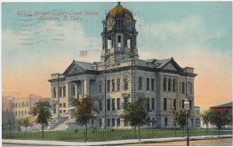 Brown County Court House, Aberdeen, South Dakota SD 1911 Postcard