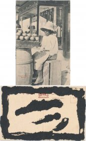 Paw Paw Seller, Bermuda - Early 1900's Postcard