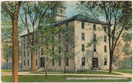Men's Dormitory, Shurtleff College, Alton, IL Illinois - Early 1900's Postcard