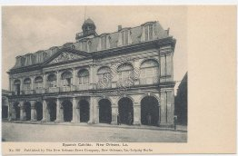 Spanish Cabildo, New Orleans, LA Louisiana Pre-1907 Postcard