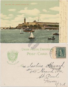 Havana Tobacco Co., CUBA May 20th 1902 Postcard