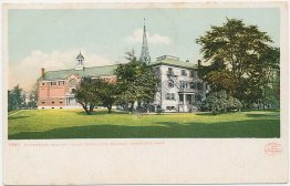 Gym, Fay House, Radcliffe College, Cambridge, MA DETROIT PUBLISHING CO. Postcard