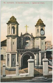 El Christo Church, Havana, CUBA - Early 1900's Postcard