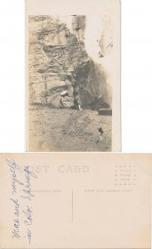 2 Women at Colorado Springs, CO - Early 1900's Real Photo RP Postcard