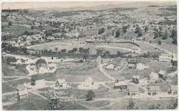 Bird's Eye View, Barre, VT Vermont - Early 1900's Postcard