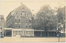 Brandon Inn, Brandon, Rutland County, VT Vermont Early 1900's RP Photo Postcard