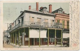 Begue's Exchange, New Orleans, LA Louisiana Pre-1907 DETROIT PUBLISHING Postcard