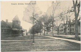 Granite Ave., Canaan, CT Connecticut - Early 1900's Postcard