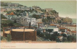 Gas Works, Gibraltar, UK United Kingom Pre-1907 Postcard