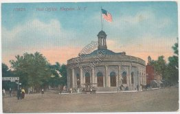Post Office, Kingston, NY New York - Early 1900's Postcard