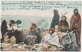 Alaska Indian Merchants, AK - Early 1900's Postcard