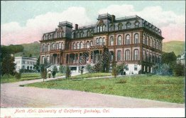 North Hall, University of California, Berkley, CA - Early 1900's PCK Postcard