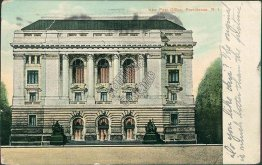 Post Office, Providence, RI Rhode Island - Early 1900's Postcard