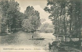 Montigny sur Aube, Cote-d'Or, France - Early 1900's Postcard