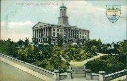State Capitol, Nashville, TN Tennessee - Early 1900's Postcard