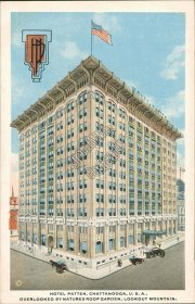 Hotel Patten, Chattanooga, TN Tennessee - Early 1900's Postcard