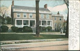 Washington's Headquarters, New London, CT Connecticut - 1905 Postcard