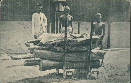 Hindu Cremation - Early 1900's Postcard