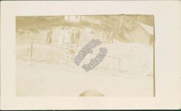 Hot Springs, Banff, Alberta, Canada - Early 1900's Real Photo RP Postcard