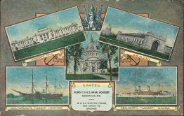 5 Views of US Naval Academy, Annapolis, MD Maryland - Early 1900's Postcard