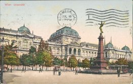University, Wien, Vienna, Austria - Early 1900's Postcard