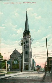 Second Presbyterian Church, Memphis, TN Tennessee 1912 Postcard