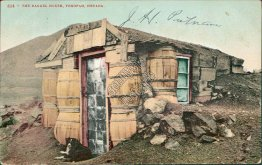 Barrel House, Tonopah, NV Nevada - Early 1900's Postcard