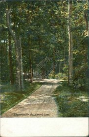 Lover's Lane, Thomasville, GA Georgia - Early 1900's Postcard