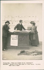 All the Latest Songs by Francis Day & Hunter - Early 1900s RP Lovers Postcard