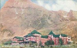 Mount Stephen House, Field, BC, Canada - C.P. Railroad Postcard