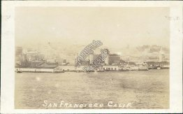 Bird's Eye View, San Francisco, CA California - Early 1900's Photo Photograph