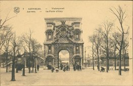 The Water Gate, Antwerpen, Belgium - Early 1900's Postcard