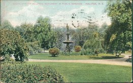 South African Soldiers Monument, Halifax, NS, Canada - 1911 Postcard