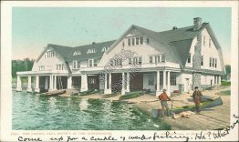 The Casino, Paul Smith's in the Adirondacks, NY New York 1906 Postcard