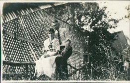 Betty & Claude Shields, YWCA, Phoenix, AZ Arizona - Early 1900's Photo