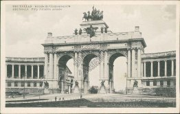 Fifty Jubule's Arcade, Brussels, Belgium - Early 1900's Postcard