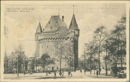 Museum of the Porte de Hal, Brussels, Belgium - Early 1900's Postcard